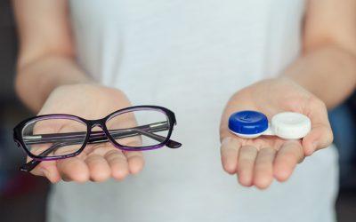 Szemüveg vagy kontaktlencse?  Inkább: szemüveg és kontaktlencse!